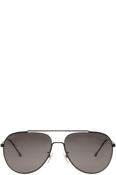 Loewe - Black Cavallet Aviator Sunglasses