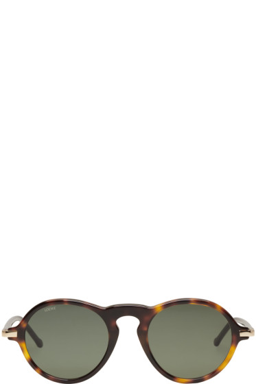 Loewe - Tortoiseshell Alcaufar Sunglasses