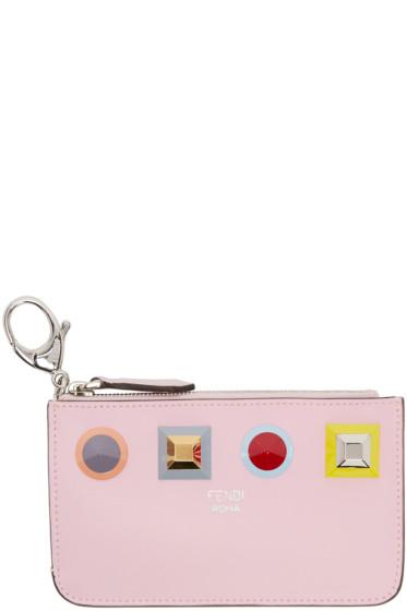 Fendi - Pink Rainbow Coin Pouch