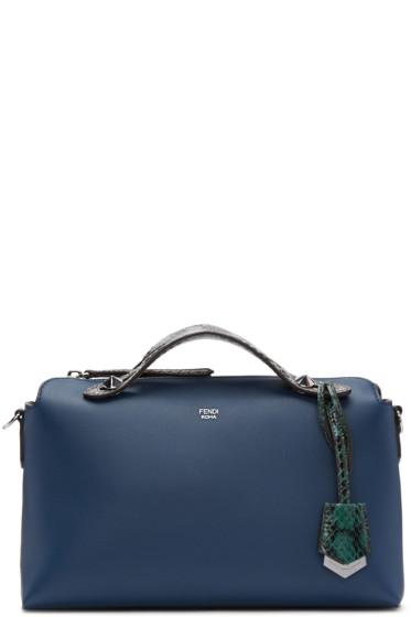 Fendi - Navy By The Way Boston Bag