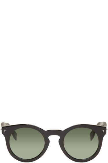 Fendi - Black Round Sunglasses