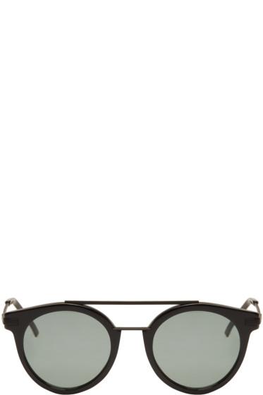 Fendi - Black High Bridge Sunglasses
