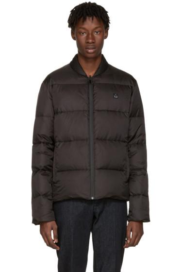 Fendi - Reversible Black Down Quilted Jacket