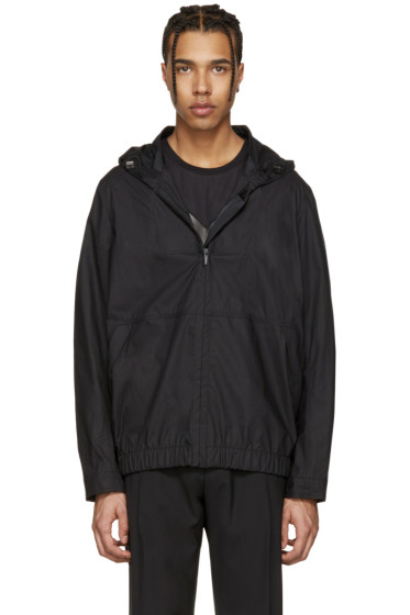 Fendi - Black Bubble Logo Jacket