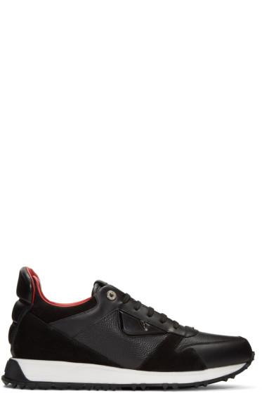 Fendi - Black 'Bag Bugs' Sneakers