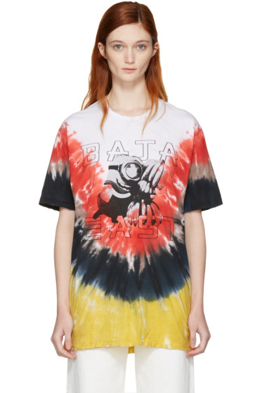 Baja East - Multicolor Tie-Dye Minions T-Shirt