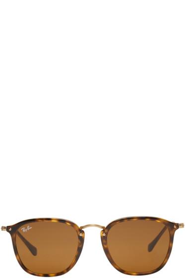 Ray-Ban - Tortoiseshell Square Sunglasses