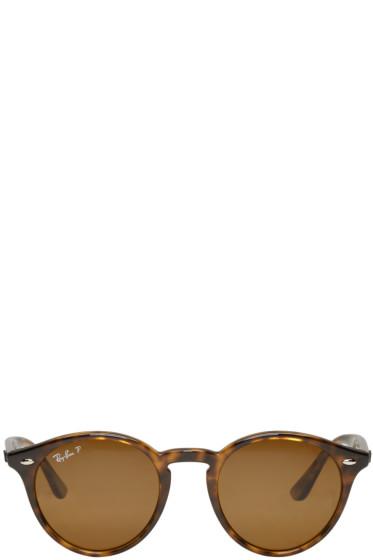 Ray-Ban - Tortoiseshell Round Sunglasses
