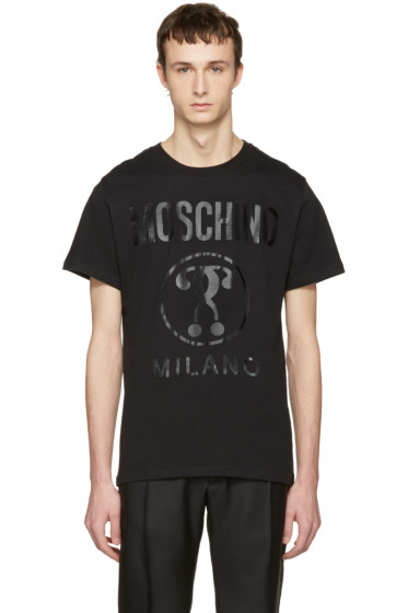Moschino - Black Tonal Logo T-Shirt