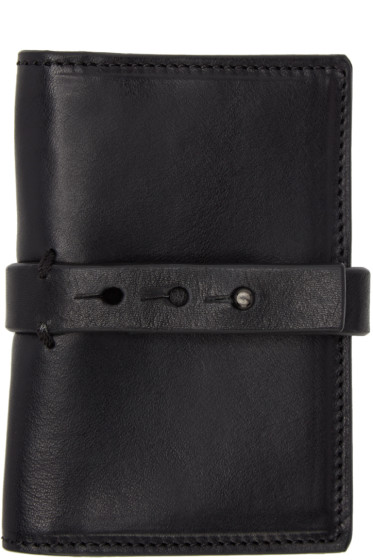 Isabel Benenato - Black Leather Wallet
