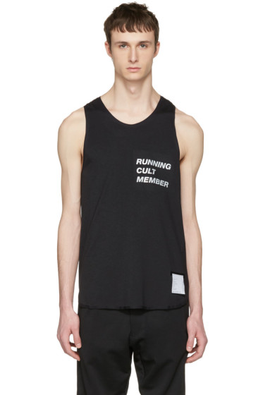 Satisfy - Black Cult Singlet Tank Top