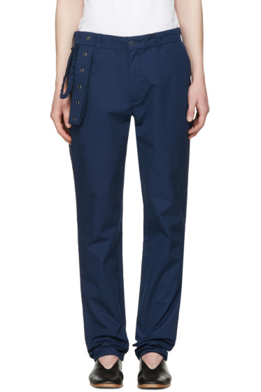 Craig Green - Navy Slim Trousers