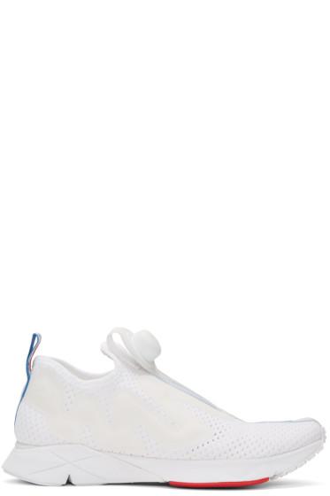 Reebok Classics - White Pump Supreme Jaqtape Sneakers