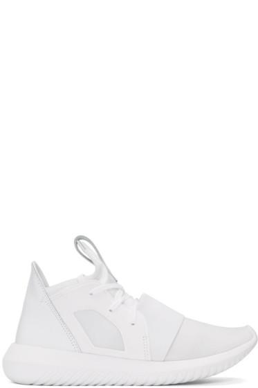 adidas Originals - White Tubular Defiant Sneakers