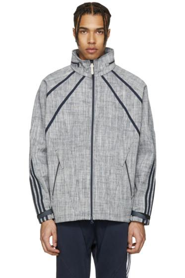 adidas Originals - ネイビー NMD Chambreaker トラック ジャケット