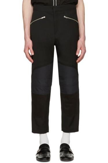 Wales Bonner - Black Georges Biker Trousers