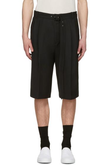 CMMN SWDN - Black Dusk Shorts