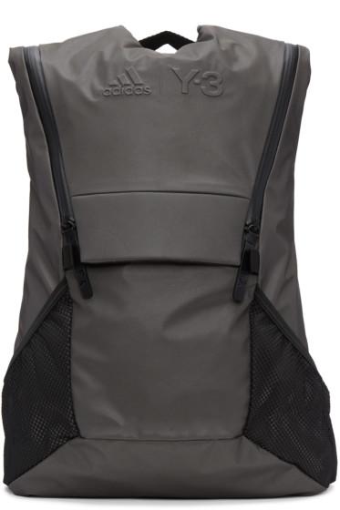 Y-3 SPORT - Grey Running Backpack