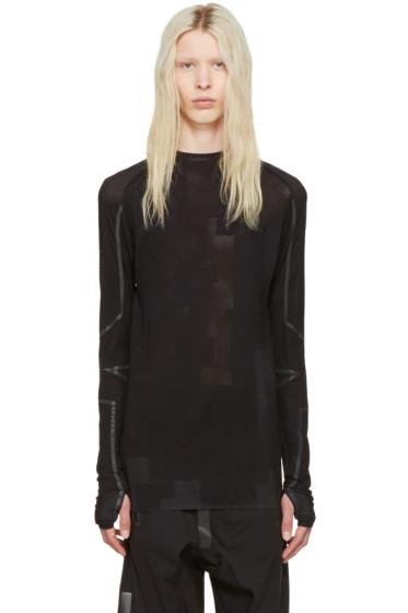 Y-3 SPORT - Black Merino T-Shirt