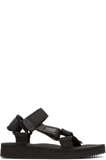 Suicoke - Black Depa Classic Sandals