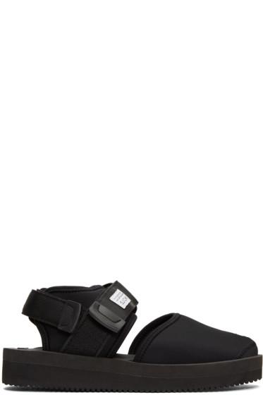 Suicoke - Black Bita-V Sandals