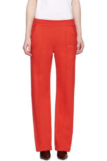 Alyx - Red Wide-Leg Lounge Pants