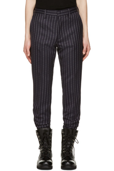 Alyx - Navy fragment Edition Pinstripe Trousers