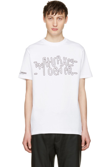 Alyx - White fragment Edition 'Natural Order/Fuck You' T-Shirt