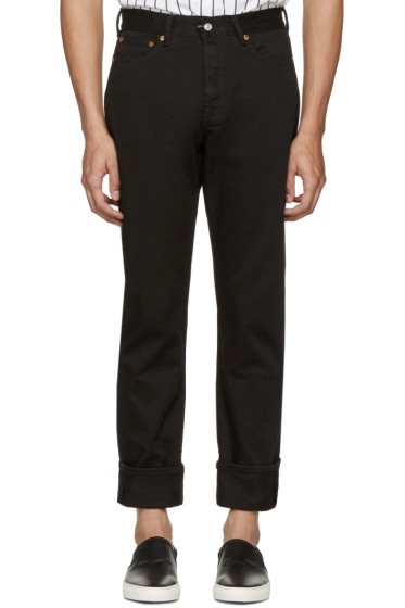 Our Legacy - Black First Cut Jeans