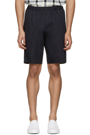 Our Legacy - Navy Relaxed Shorts