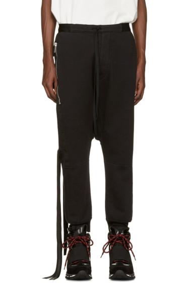 Unravel - Black Pockets  Lounge Pants