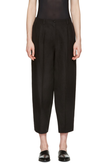 Nehera - Black Round Essential Trousers