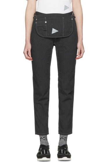 and Wander - Black Pocket Trousers