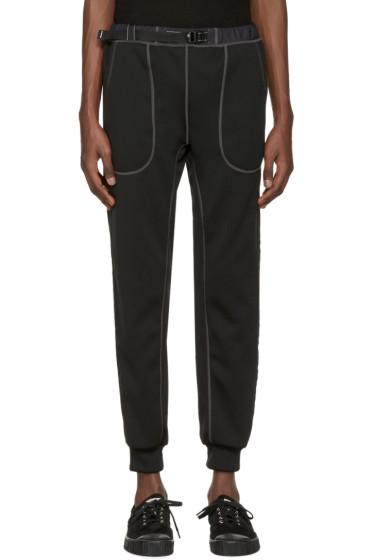 and Wander - Black Ponte Lounge Pants