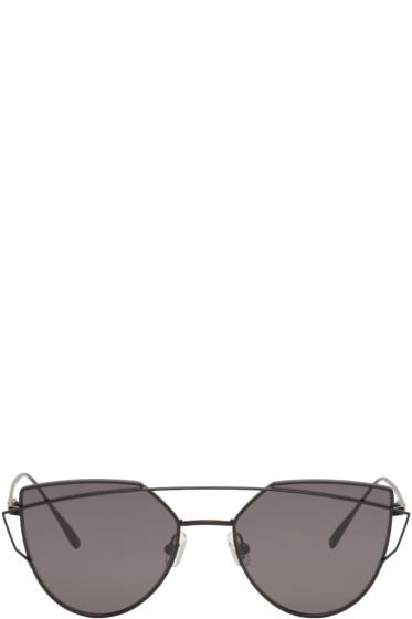 Gentle Monster - Black Love Punch Sunglasses