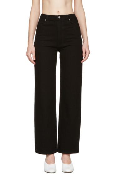 Eckhaus Latta - Black Straight Leg Jeans