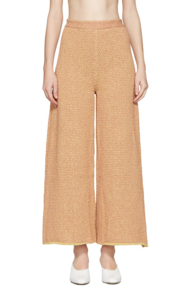 Eckhaus Latta - Orange Knit Culottes