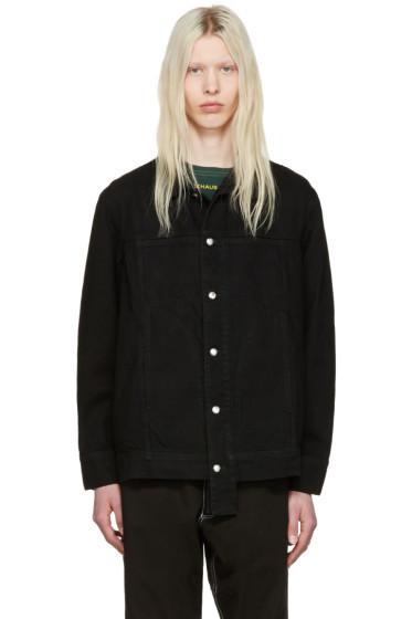 Eckhaus Latta - ブラック デニム ジャケット