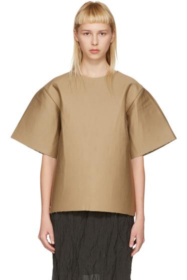 Bless - ブラウン カードボード T シャツ