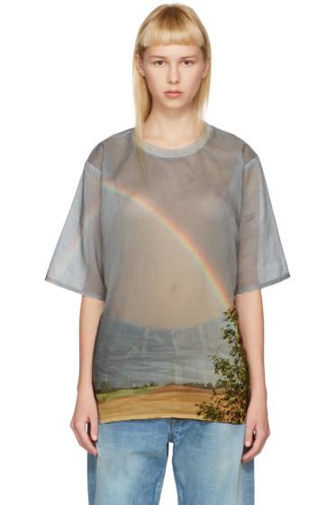 Bless - マルチカラー レインボー T シャツ