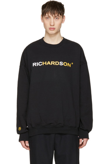 Richardson - Black Logo Pullover
