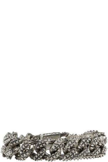 Emanuele Bicocchi - Silver Worked Chain Bracelet