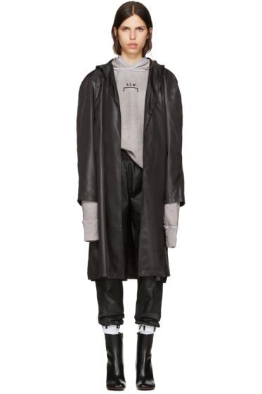 A-Cold-Wall* - Black Nylon Raincoat