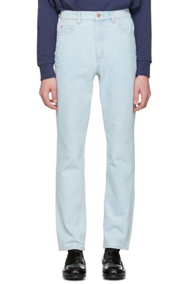 Martine Rose - Blue Slim Jeans