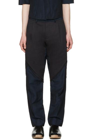 Abasi Rosborough - Indigo Arc Trousers