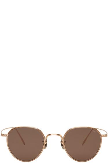 Eyevan 7285 - Gold Model 539 Sunglasses