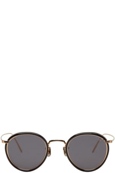 Eyevan 7285 - Black Model 717 Sunglasses
