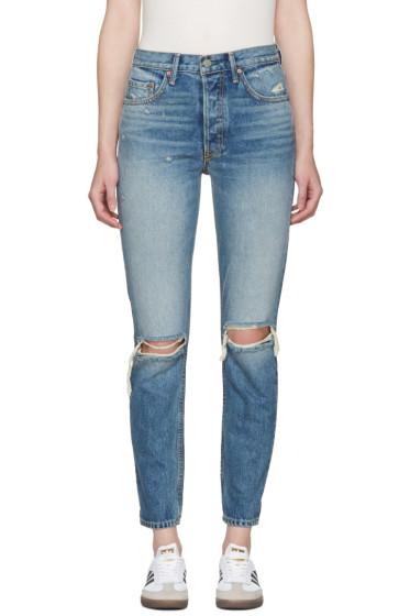 GRLFRND - Blue Karolina Jeans