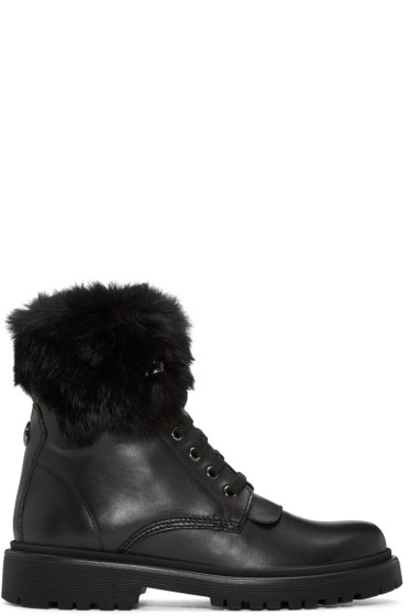 Moncler - Black Patty Boots