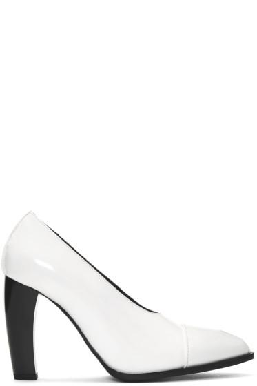 Jil Sander - White Dodo Heels